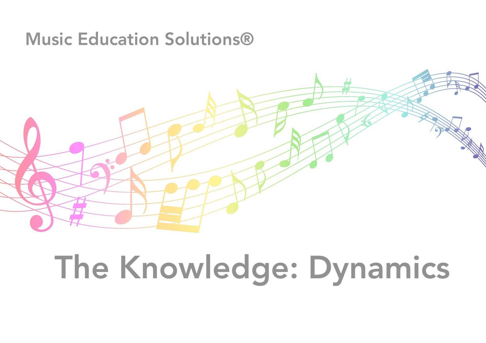The Knowledge: Dynamics Vocabulary