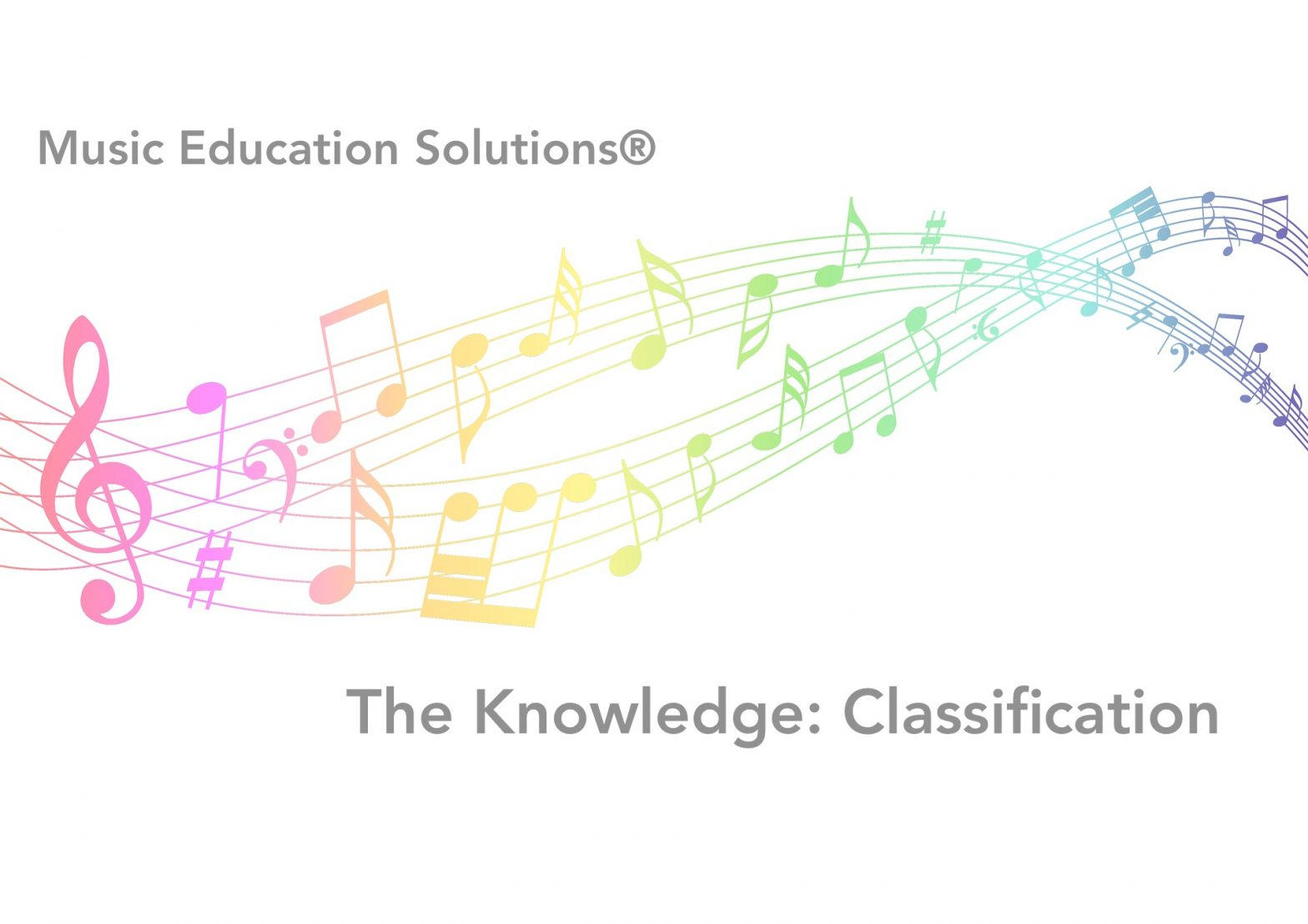 The Knowledge: Classification